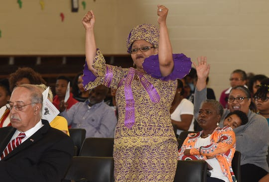 Photos from the black history program held Saturday at Plaisance Middle School.