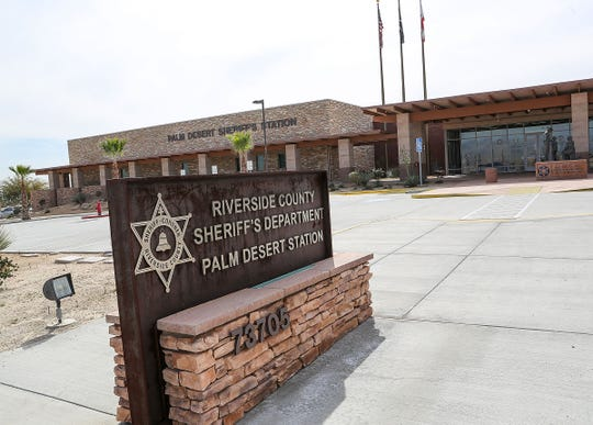 The Riverside County Sheriff's Department Palm Desert Station, February 26, 2019.