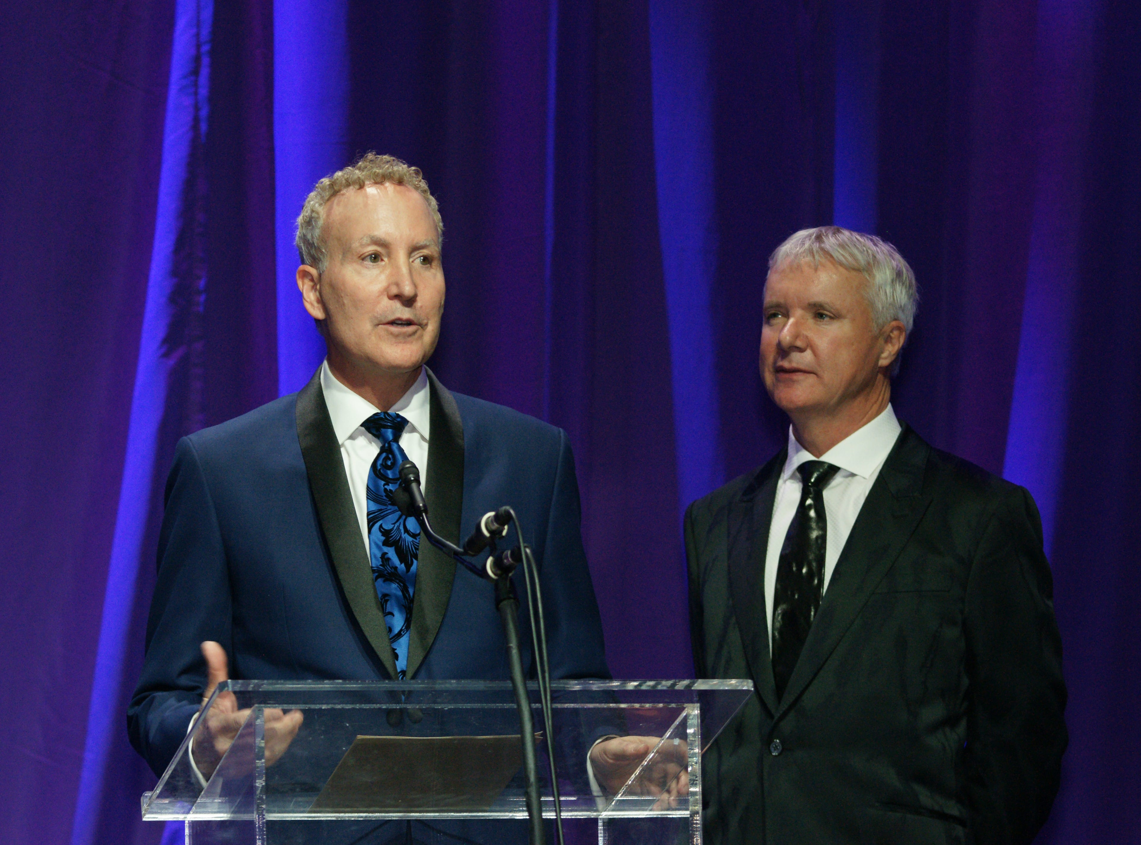 Geoff Kors and James Williamson, Partners for Life Honorees.