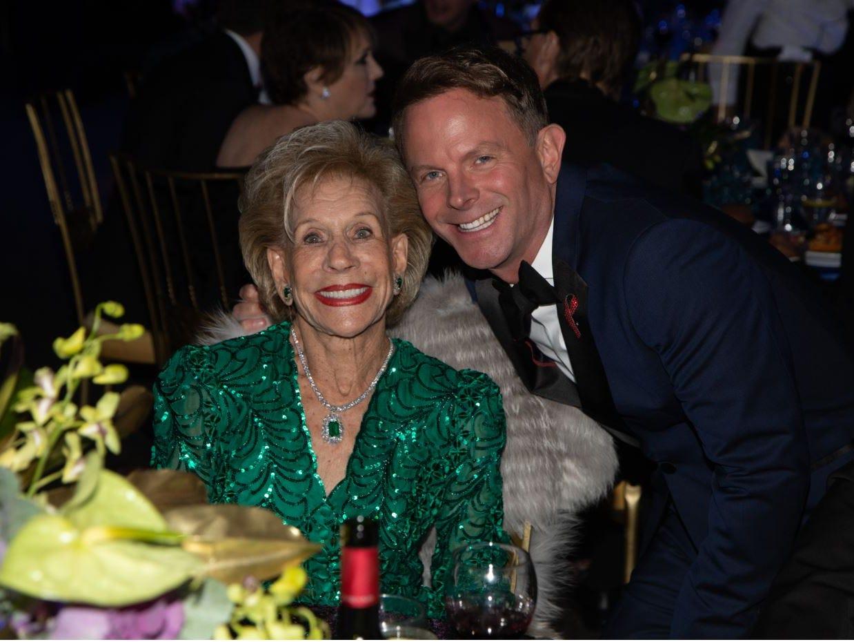 25th Anniversary sponsor Annette Bloch and David Brinkman.