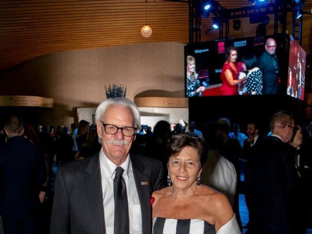Benefactor sponsors Bill Scheffler and Ann Sheffer.