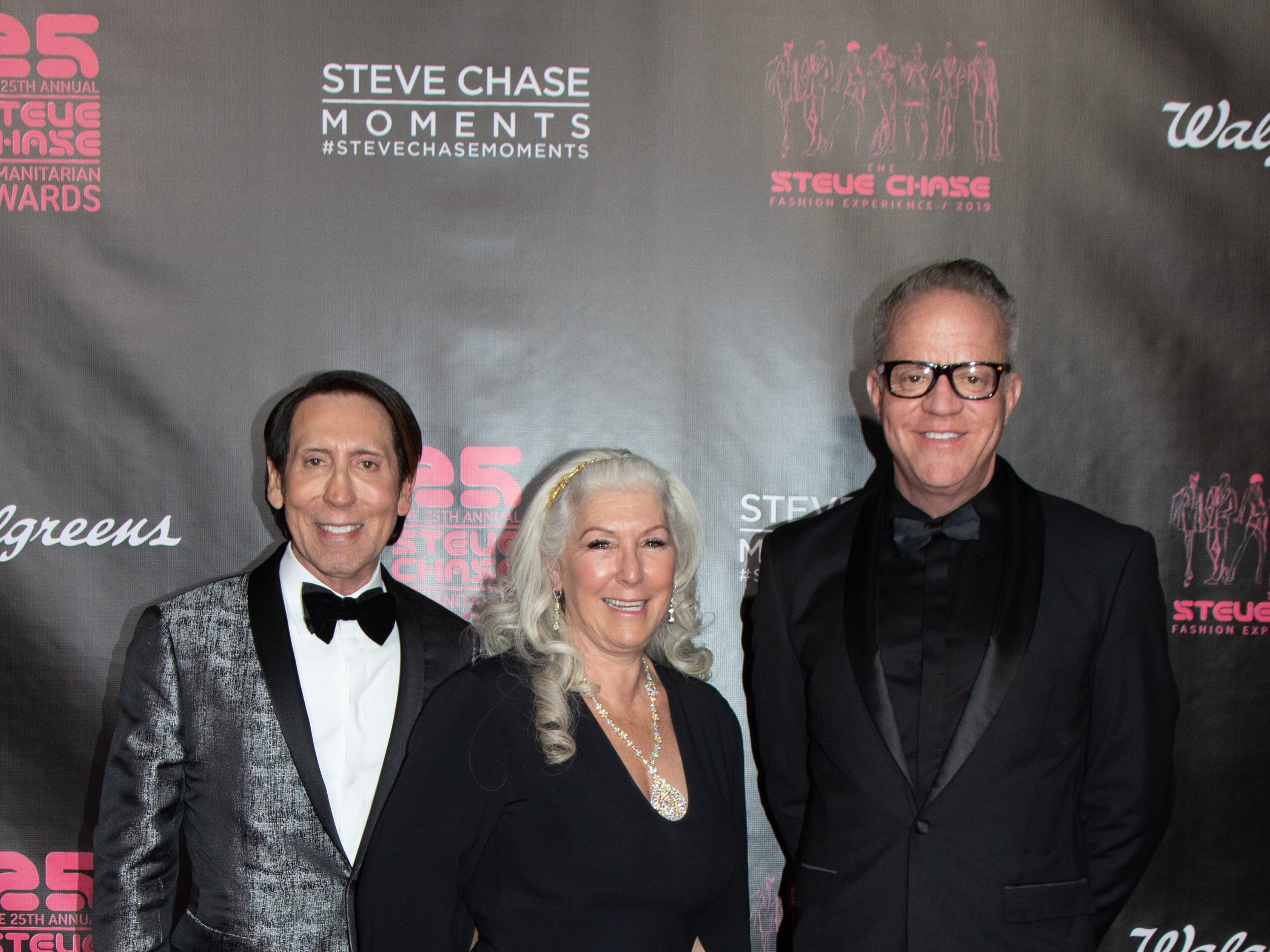 Steve Chase Gala Co-Chairs (left to right) Kevin Bass, Lauri Kibby and Patrick Jordan.