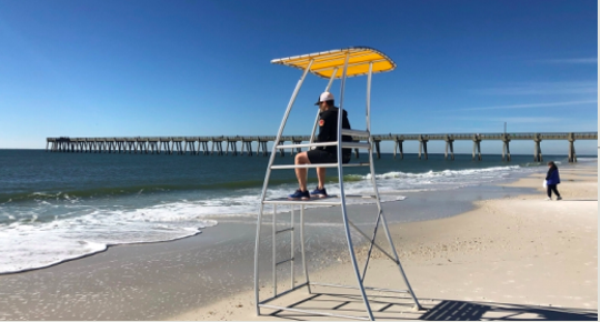 Santa Rosa County is expected to approve $20,000 in TDC funds to purchase brand new aluminum lifeguard towers to replace the decaying wooden towers on Navarre Beach. The new aluminum towers will be lightweight and easy to move in front of rip currents, beach safety officials say.