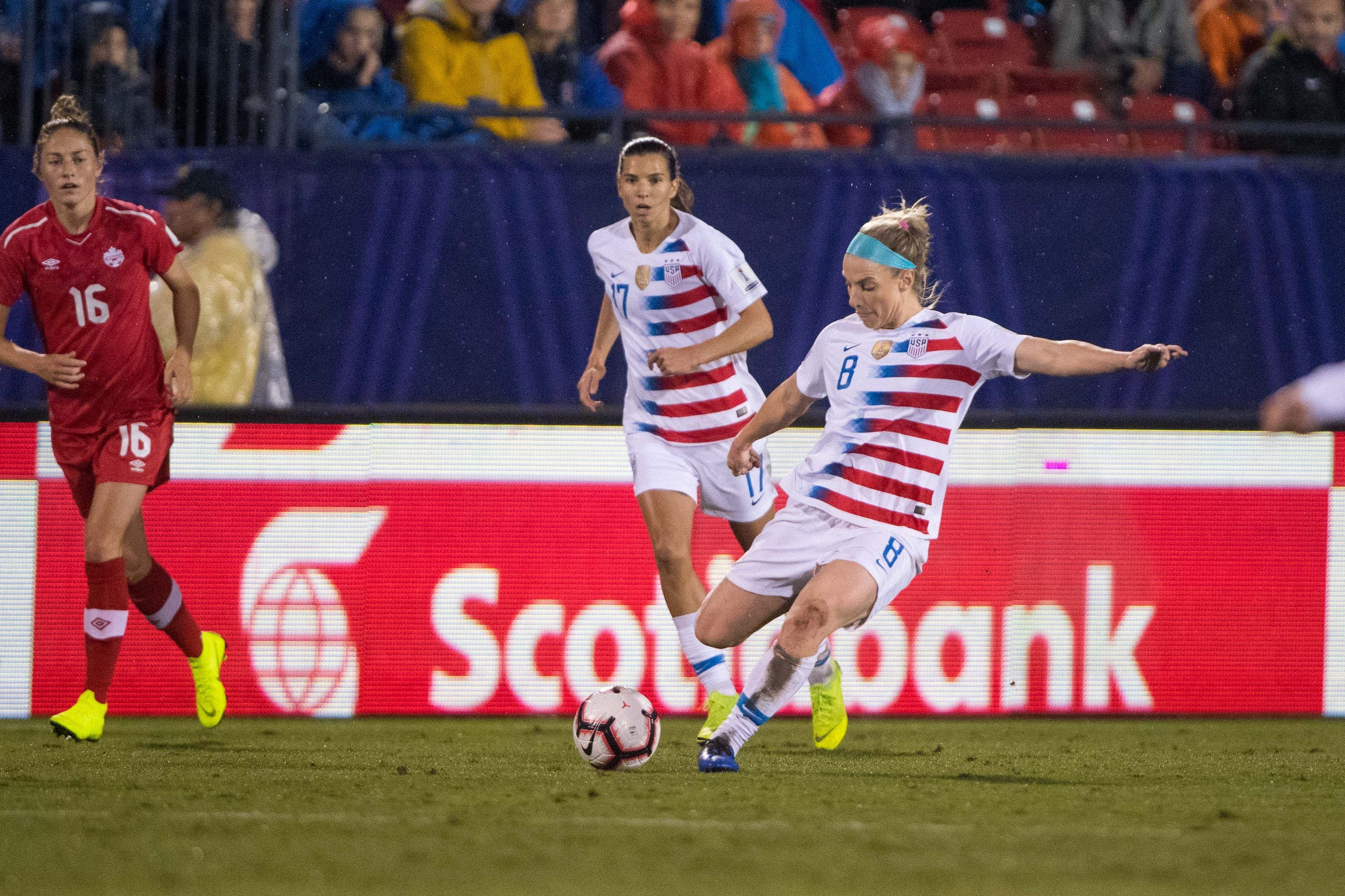 10abd4fad Julie Ertz gears up to lead United States women s national soccer team
