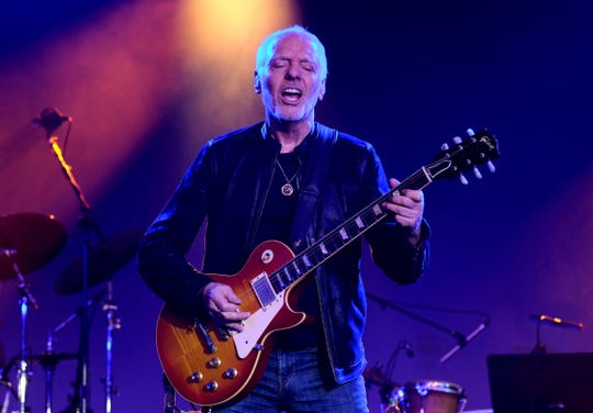 Peter Frampton performs at the TEC Awards during the 2019 NAMM Show at the Hilton Anaheim on January 26, 2019 in Anaheim, California.