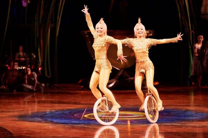 "A scene from Cirque du Soleil's ""Amaluna."""