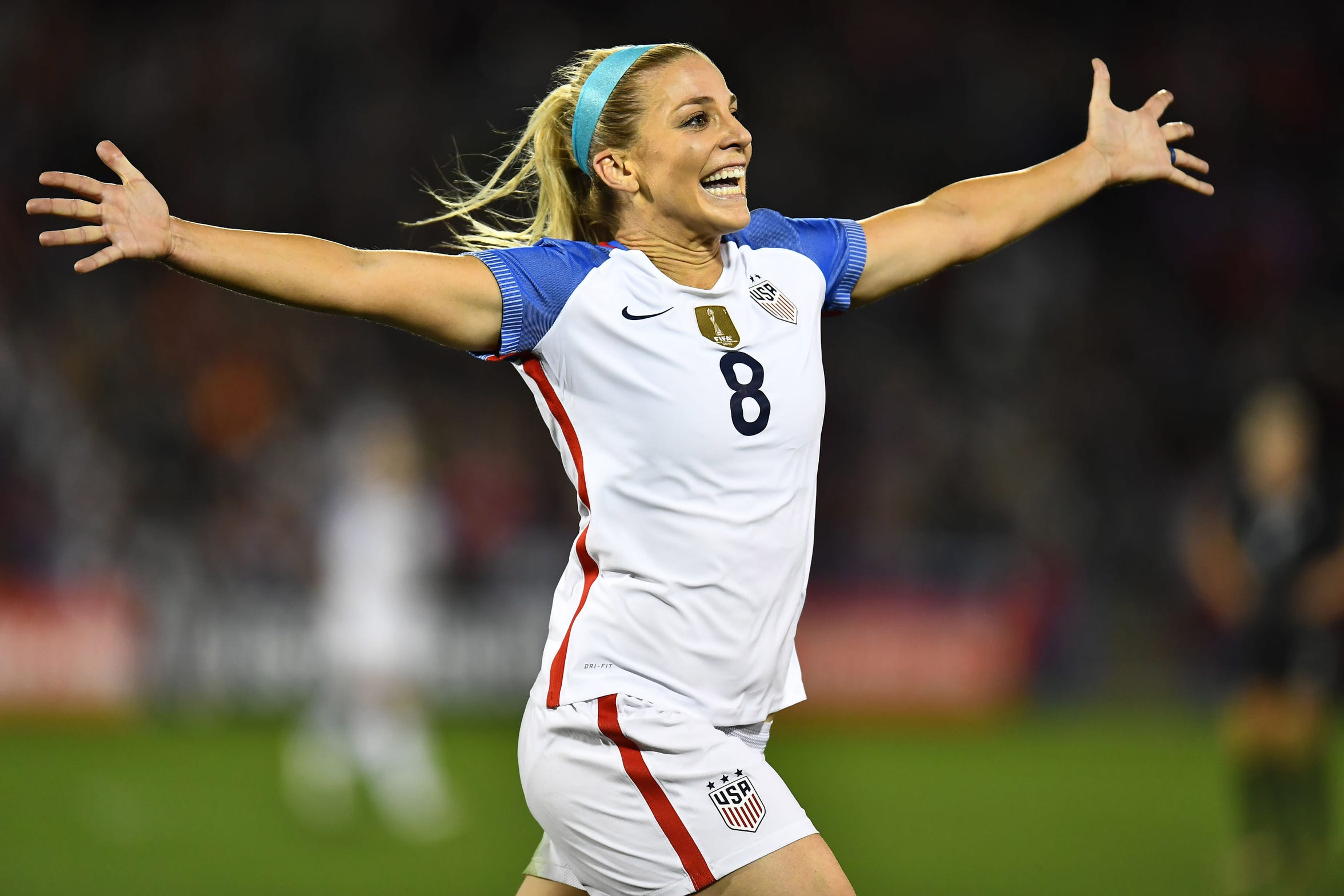 In 2017, Julie Ertz was asked to switch to midfielder – and never looked back.