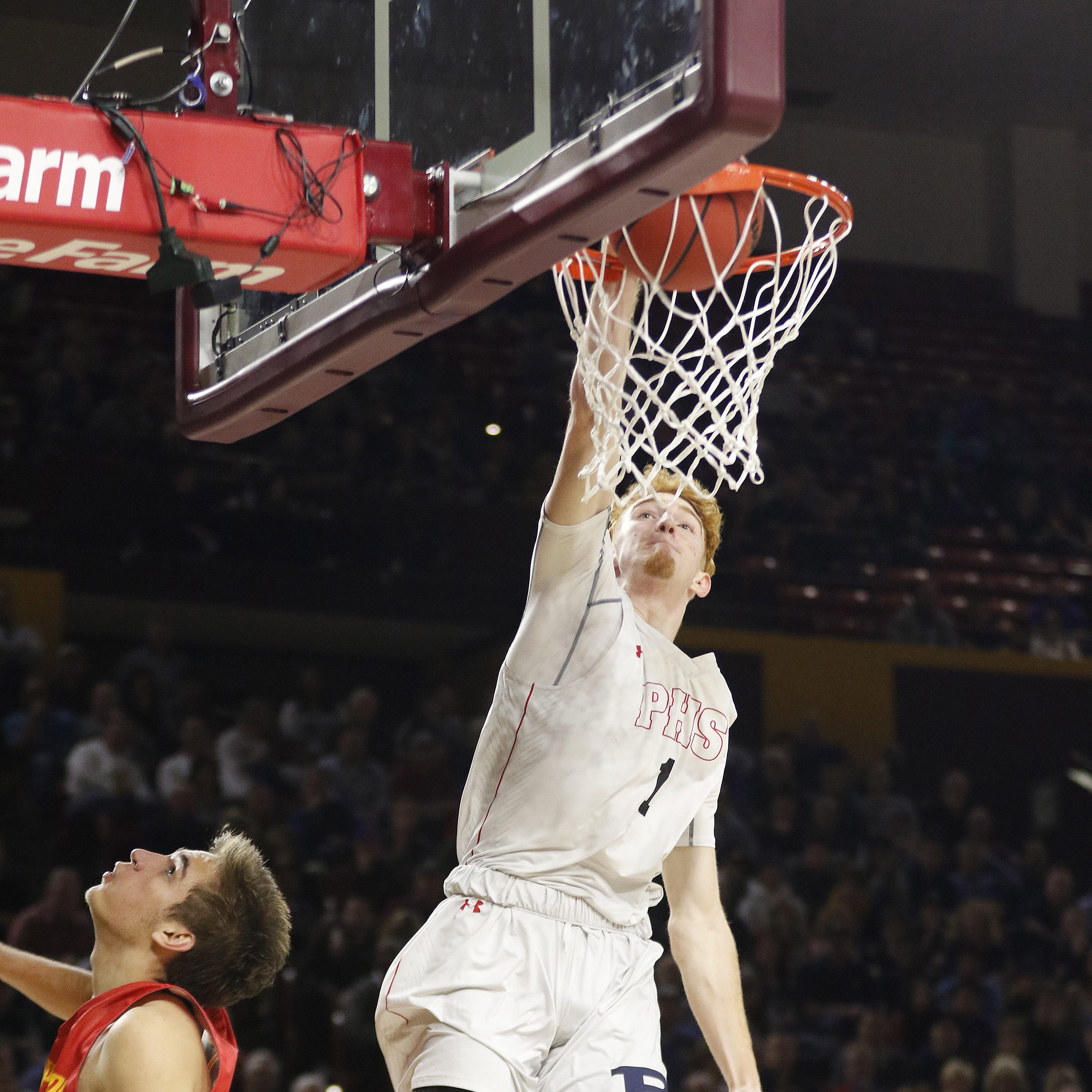 Nico Mannion leads Pinnacle to second straight 6A championship in final high school game