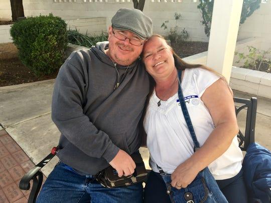 """To me, after I had the stroke, it's like I got a second chance,"" Jon Barker said. ""I didn't want to waste it."" (Photo: Karina Bland/The Republic)"