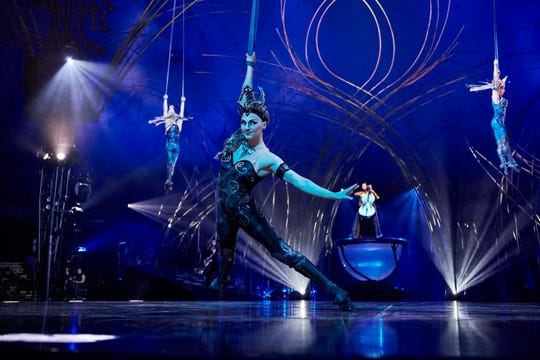 "Scene from ""Amaluna."""