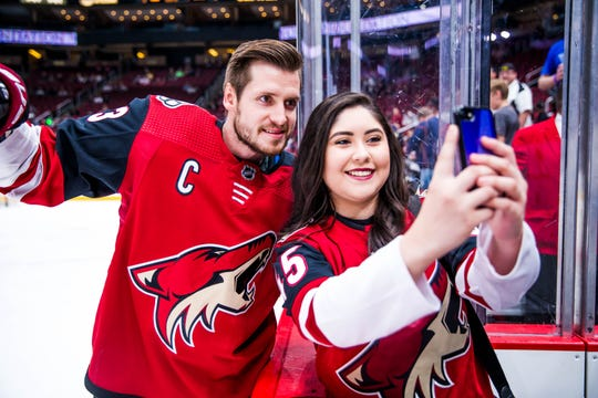 Coyotes players go the extra mile when it comes to interacting with their fans.
