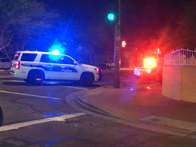 A man was shot and wounded Tuesday night on 11th Street, near East Van Buren Street, and the shooter is still at large, Phoenix police said.