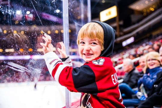 Arizona Coyotes home games offer a fun, unforgettable experience for all ages.