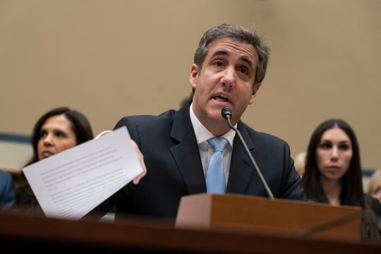 Michel Cohen comparece ante el Comité del Senado.