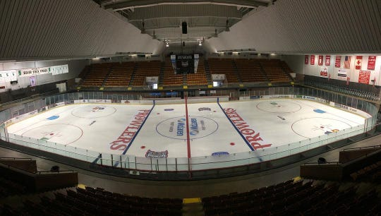 McMorran Arena is competing for $150,000 for improvements and the chance to host a preseason NHL game through the Kraft Hockeyville USA contest. The deadline to nominate the community by sharing a story or liking others' is March 2.