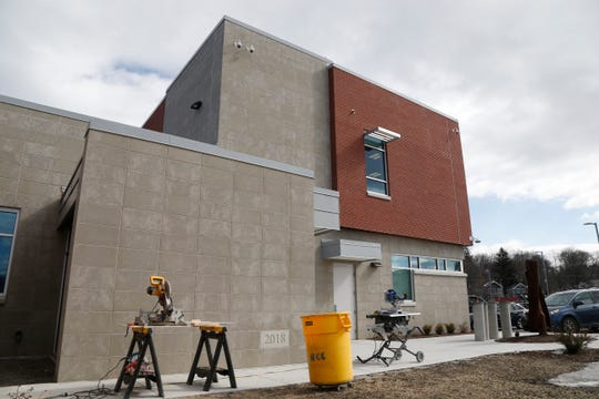The Dutchess Law Enforcement Center on February 26, 2019. While staff has moved in, construction workers continue to finish working on the building.