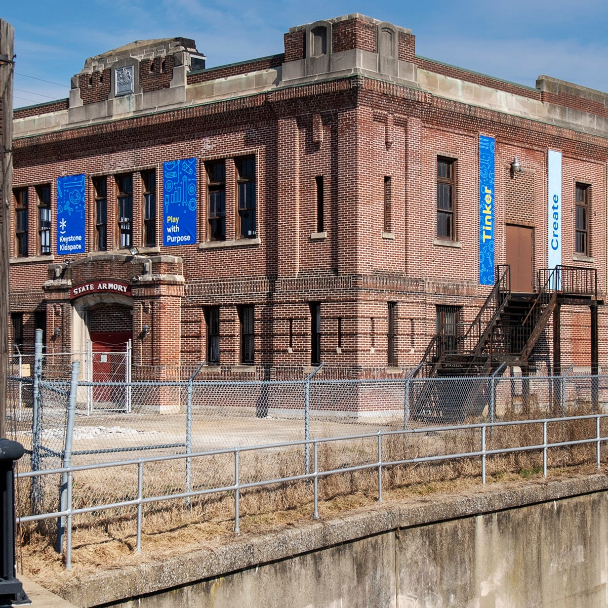 Educational Kidspace to transform York Armory building, enhancing Codorus Creek gateway