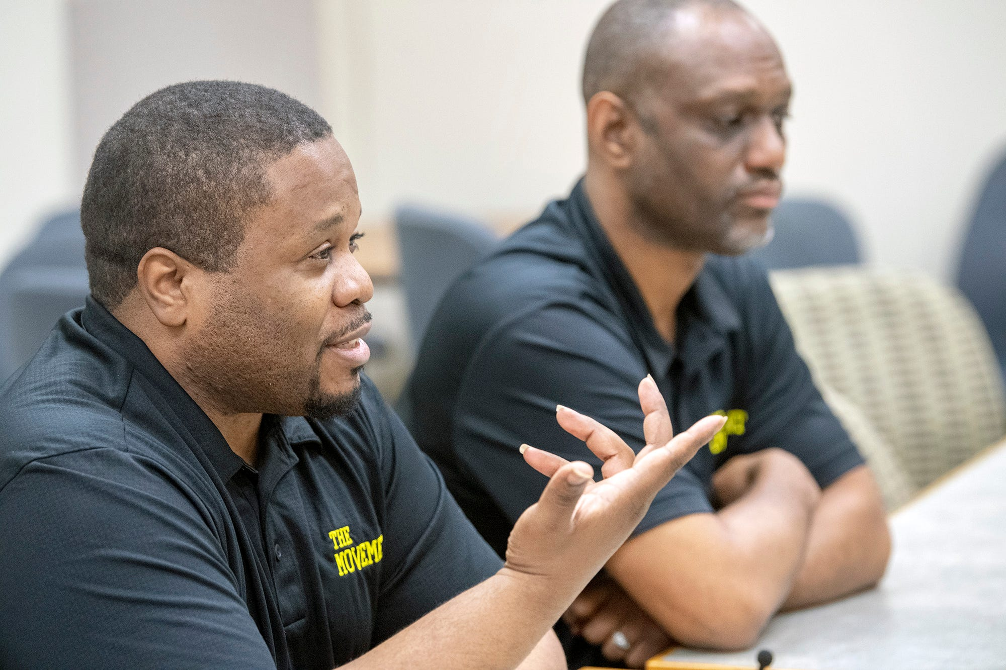 Anu Banks, president of The Movement, left, and Fred Walker, chief operating officer.