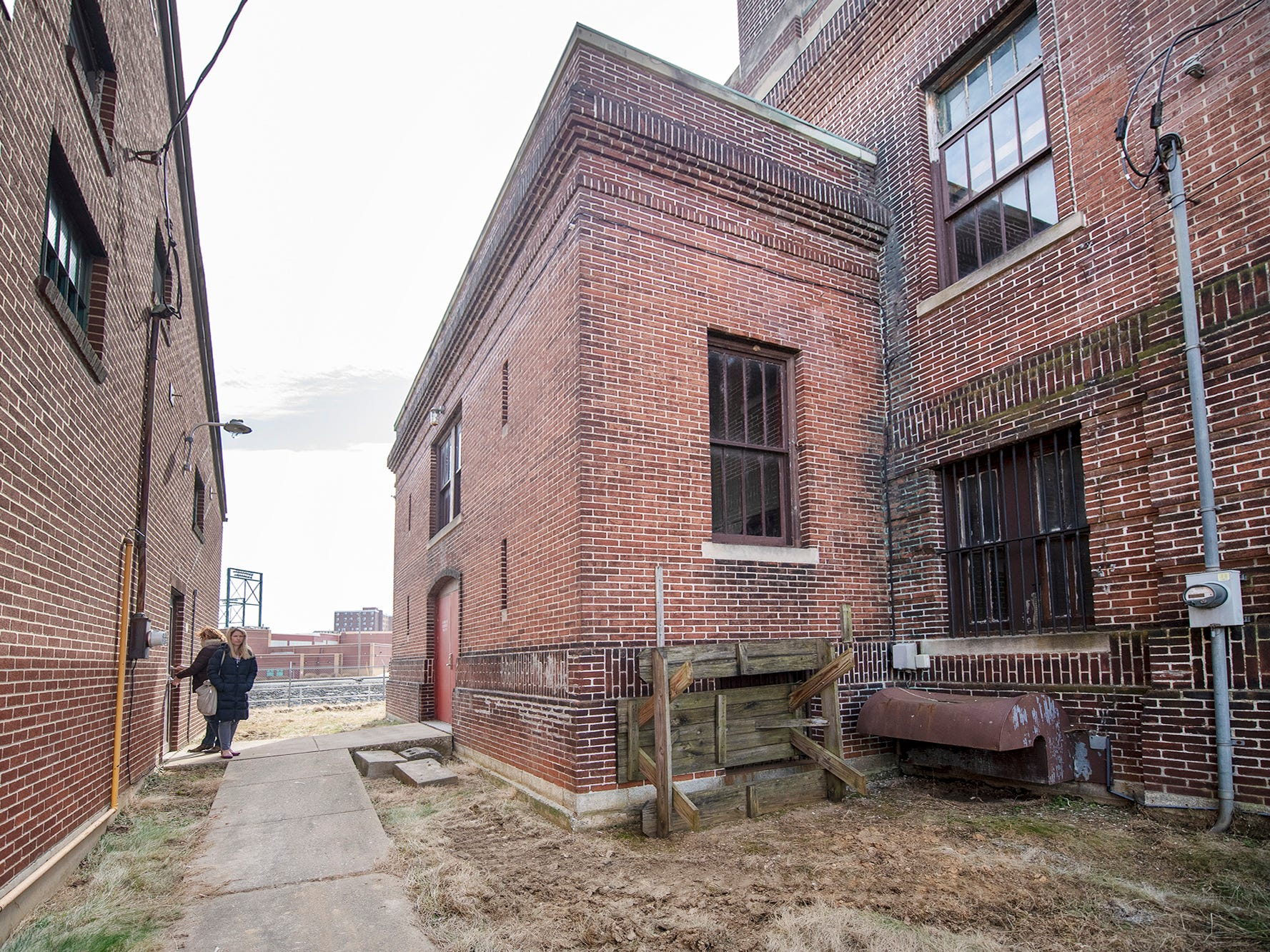 A space between the buildings will be a new enclosed entryway. The York Armory, a brick fortress built in 1913 once used by the Pa. National Guard, will soon be transformed into Keystone Kidspace, an educational experience for families. It's expected to open in 2020.