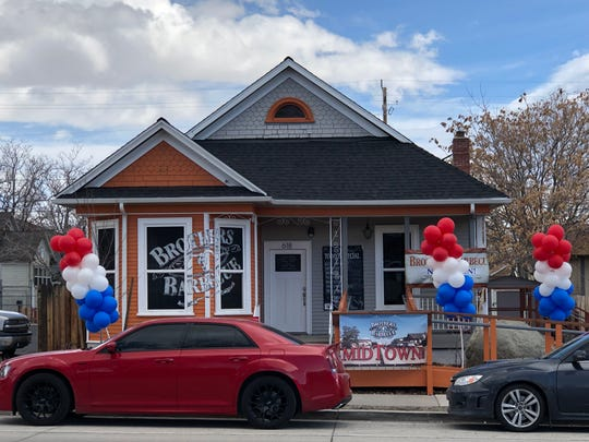 Brothers Barbecue opened in Midtown Reno in late January 2019 after a move from Roberts Street and Wells Avenue.