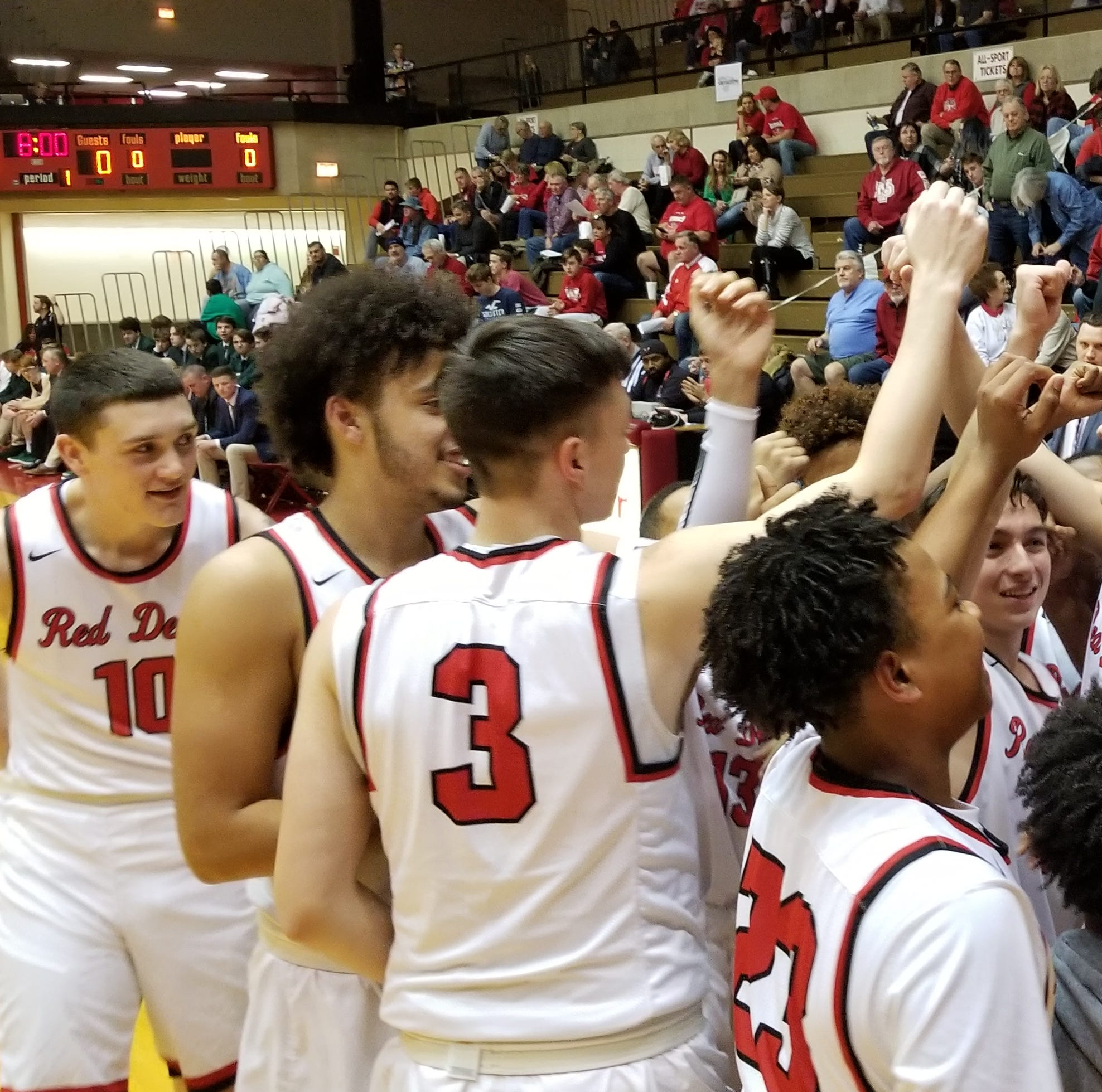 Red Devils rally for sectional victory