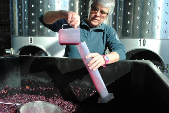 Nancy Irelan is co-owner and winemaker of Red Tail Ridge Winery on Seneca Lake.
