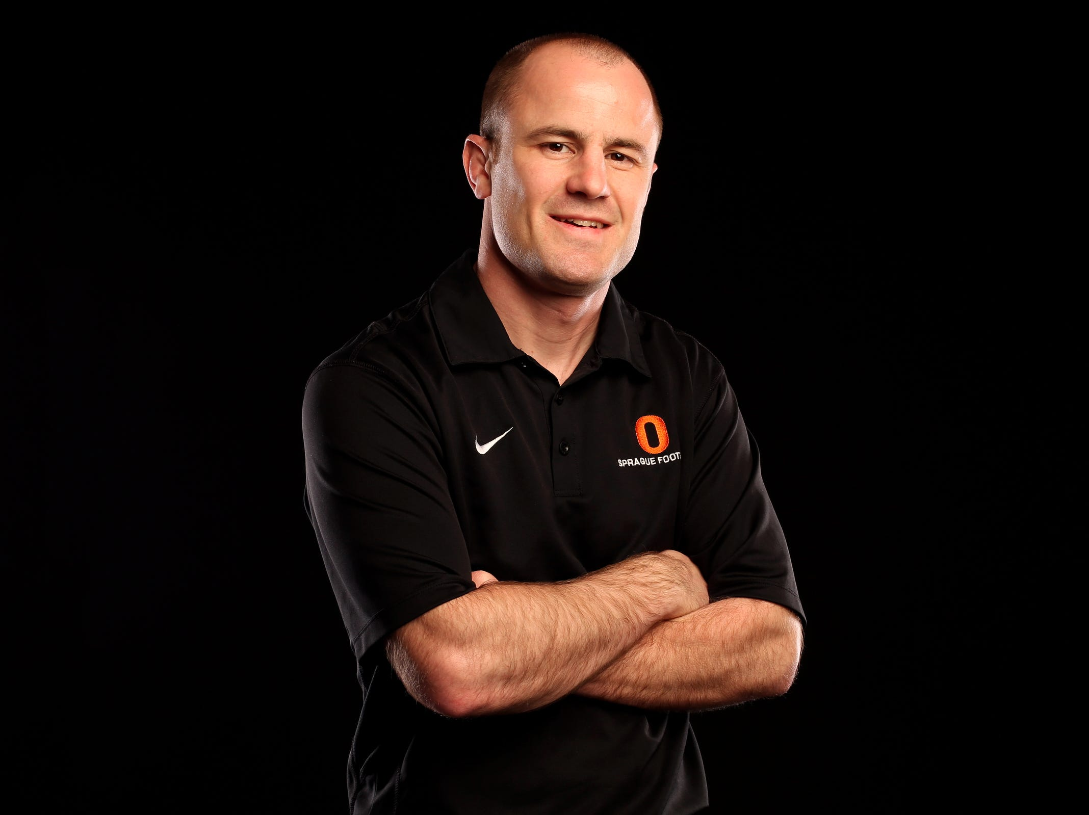 Sprague wrestling coach Nolan Harris.
