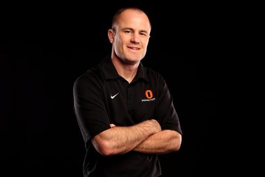 Sprague wrestling coach Nolan Harris.