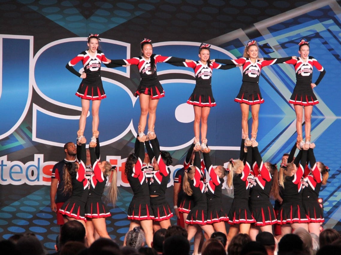 The Central High School varsity cheer team recently won the United Spirit Association National Competition, beating 17 other teams from across the country in their division.