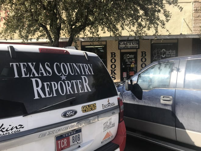 The Texas Country Reporter makes a stop in San Angelo to feature the Cactus Book Shop at 4 E. Concho Ave. Wednesday, Feb. 27, 2019.