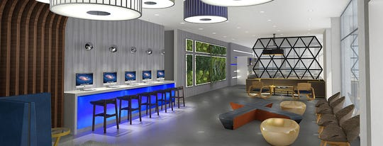 A rendering for the new Best Western GLo coming to Dawley Farm Village in eastern Sioux Falls.