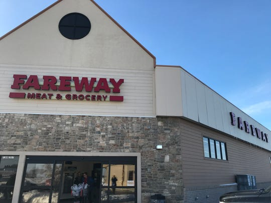 The Fareway grocery store at 720 E. 1st St. in Tea. The store was formerly a Sunshine Foods.