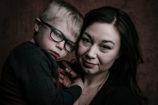 Kathryn Atchley and her son, 5-year-old Parker, recently shared their story for Springfield photographer Randy Bacon's 7 Billion Ones project. Parker, a kindergartner at McBride Elementary has a rare disorder called KIF1A Associated Neurological Disorder.