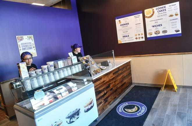 Insomnia Cookies is open for business Wednesday, Feb. 27, in St. Cloud. The shop will deliver fresh cookies and is open until 3 a.m.