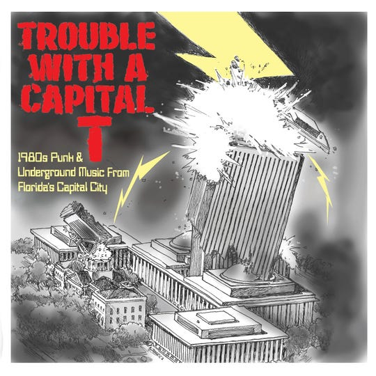 """""""Trouble With a Capital T"""" is an album conceived and produced by Jon Bleyer."""