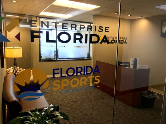 The Florida Sports Foundation offices on North Monroe Street in downtown Tallahassee.