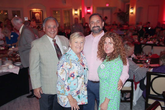 "Al, left, Betty, Mark and Mary Sammartino at the Haiti Partners' ""Educate and Celebrate"" event at Grand Harbor Golf Club."