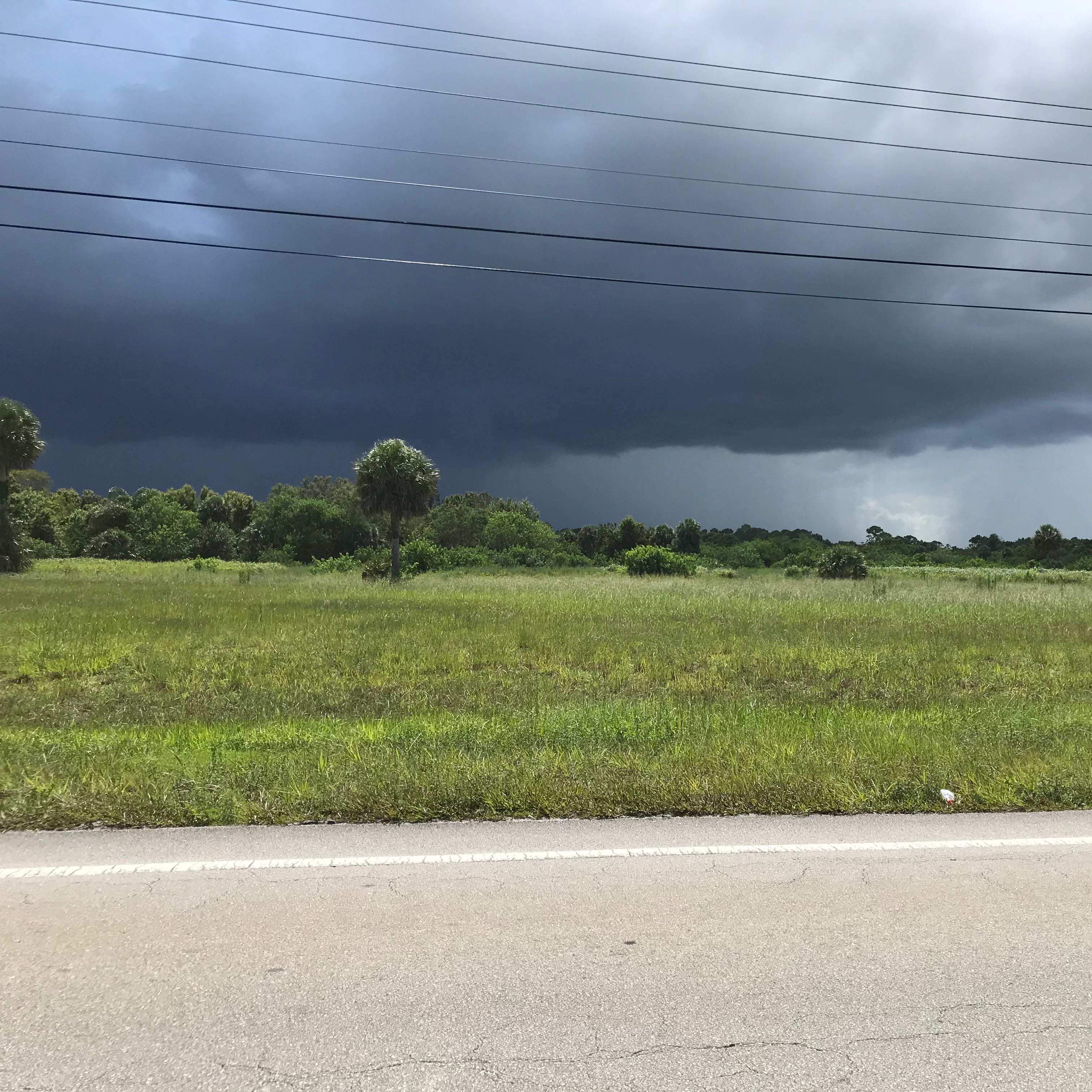 Showers later today could bring torrential downpours, lightning