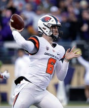 Former Ventura College star Jake Luton Luton was granted a sixth season of collegiate eligibility last month and will compete for the starting quarterback job at Oregon State.