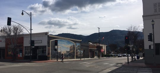 Santa Paula's downtown.