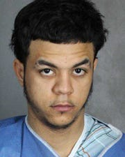 Yonanthan Abreu, a 23-year-old Bronx man, was charged last night with third-degree criminal possession of stolen property and second-degree assault.