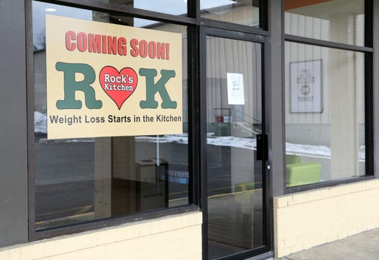 Exterior of Rock's Kitchen in Stony Point Feb. 27, 2019. The new fast casual healthy eatery was inspired by Rocky Alexander's healthy lifestyle after undergoing bariatric surgery. It will open March 4, 2019.