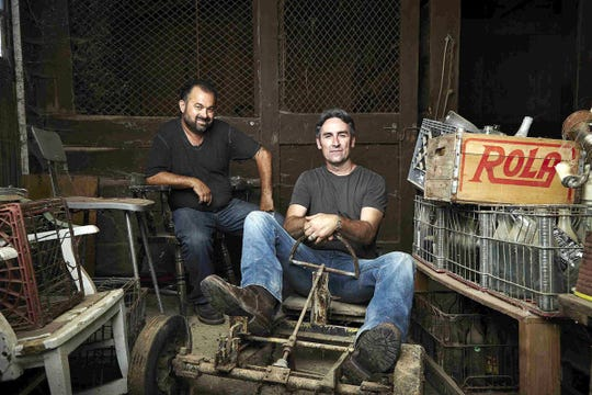 """Frank Fritz and Mike Wolfe of 'American Pickers"""" will film episodes of the hit History channel series in New York in May 2019."""