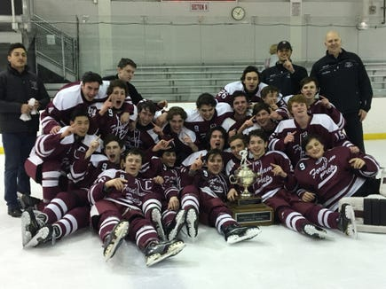 Fordham Prep came back from Game 1 losses in the best-of-three semifinals and finals, claiming their first CHSHL AA title since 2007.
