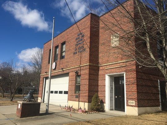 Mount Kisco's fire station on Green Street is in the heart of the village's downtown.