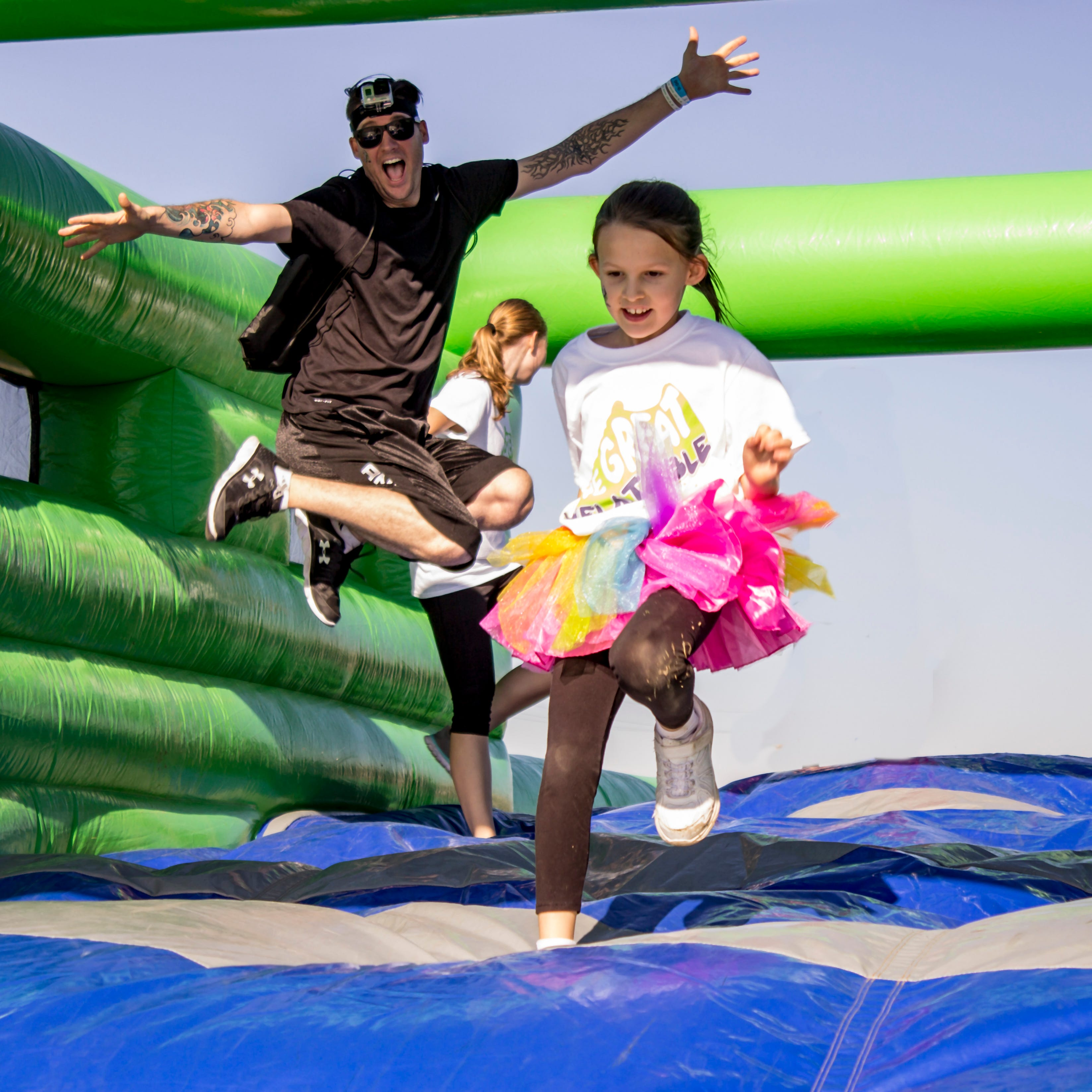 Bounce around! The Great Inflatable Race headed to Delaware this summer.