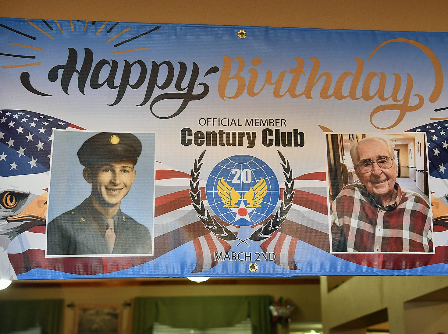 Brookdale Senior Living resident Joe Cuba will turn 100 on Saturday and Cuba's family requested on social media for him to receive 100 cards for his 100th birthday. So far, he's received approximately 16,000.