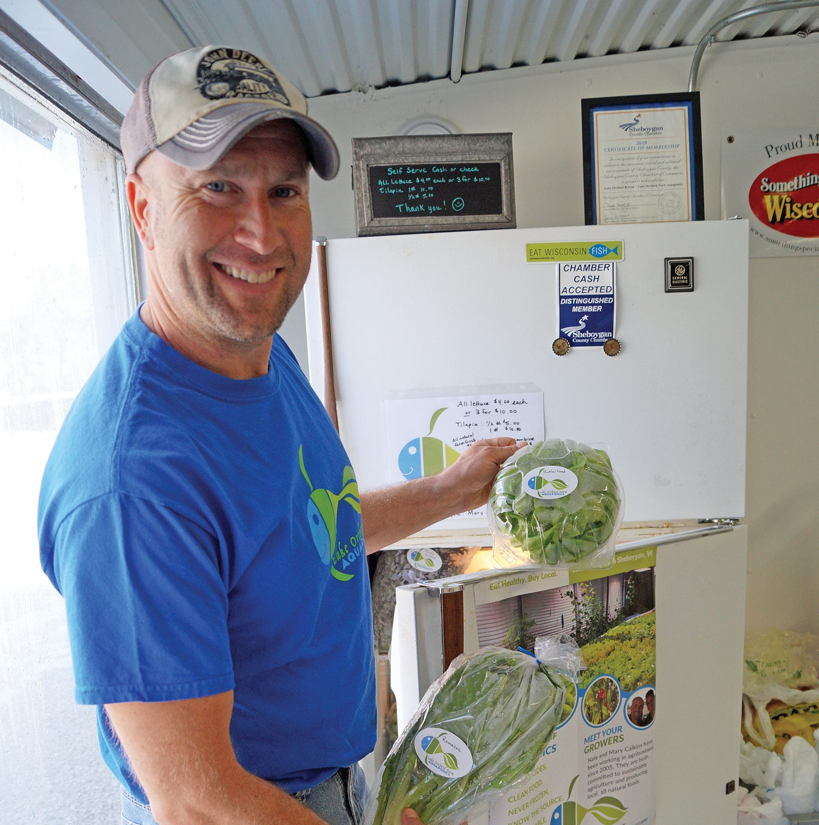 Aquaponics provides stability, livelihood for Sheboygan farmers