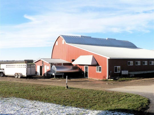 The little red barns are fewer every year but many are used by young and beginning farmers.