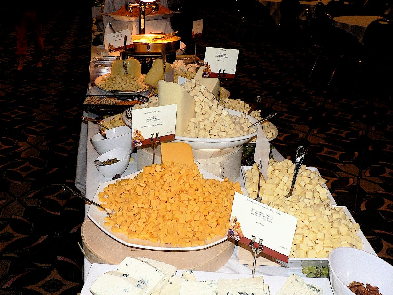 Cheese consumption grows yearly.